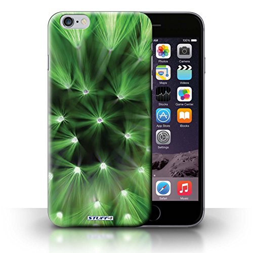 Hülle Case für iPhone 6+/Plus 5.5 / Grün Entwurf / Multi Farbe Licht Blume Collection