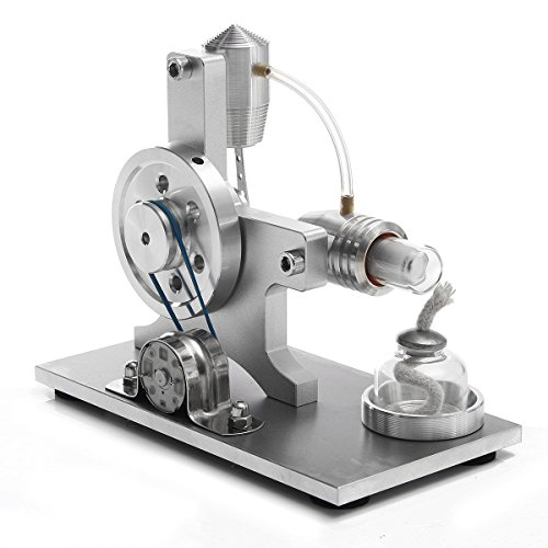 New Stirling Engine Model Physical Motor Power Generator External Combustion Educational Toy beta magnetic boehm wilesco elenker