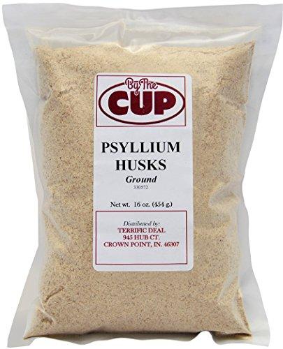 Psyllium Husks Ground lb Bag product image