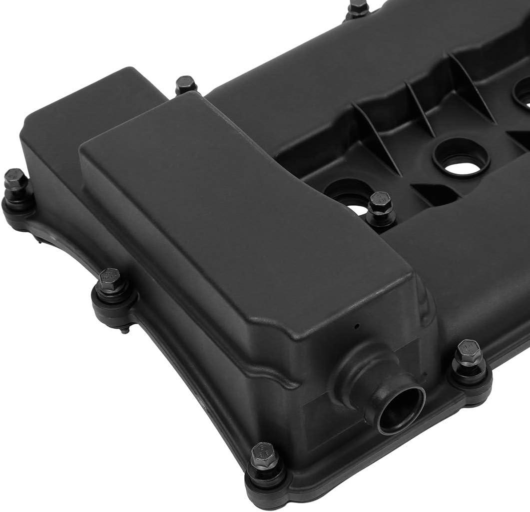 X AUTOHAUX 03H103429D Car Engine Valve Cover for Audi Q7 3.6L 2007-2010 for Volkswagen Touareg 3.6L 2007-2017