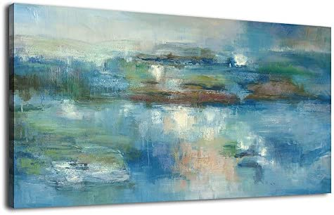 Canvas Print Wall Art Picture  Expressive handmade painting abstract 120x60