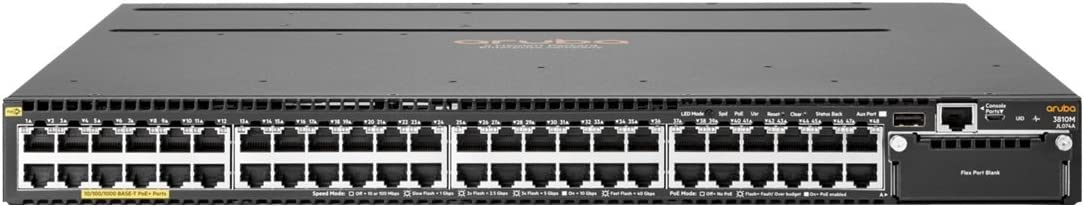 HP 3810M 48G PoE+ 1-Slot Swch (JL074A)