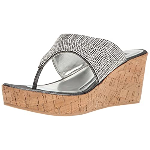 cheap Yellow Box Women's Greet Wedge Sandal
