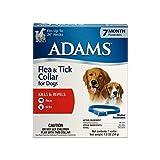 Dog Flea Treatment Collar - Adams Flea and Tick Collar for Dogs
