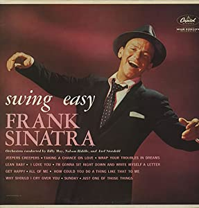 Frank Sinatra Swing Easy Record Album Vinyl Amazon