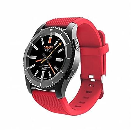 Fitness Tracker, contador de calorías, llamada SMS WhatsApp reloj inteligente, Bluetooth deporte reloj