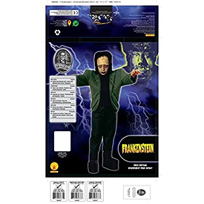 Universal Studios Child's Frankenstein Costume, Small: Toys & Games