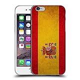 Head Case Designs Spain Spanish Vintage Flags Soft Gel Case for Apple iPhone 6 / 6s