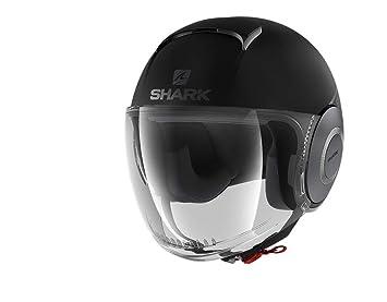 b1106a02 Shark Open-Face Helmet Street Neon, Black Grey, Size L: Amazon.co.uk ...