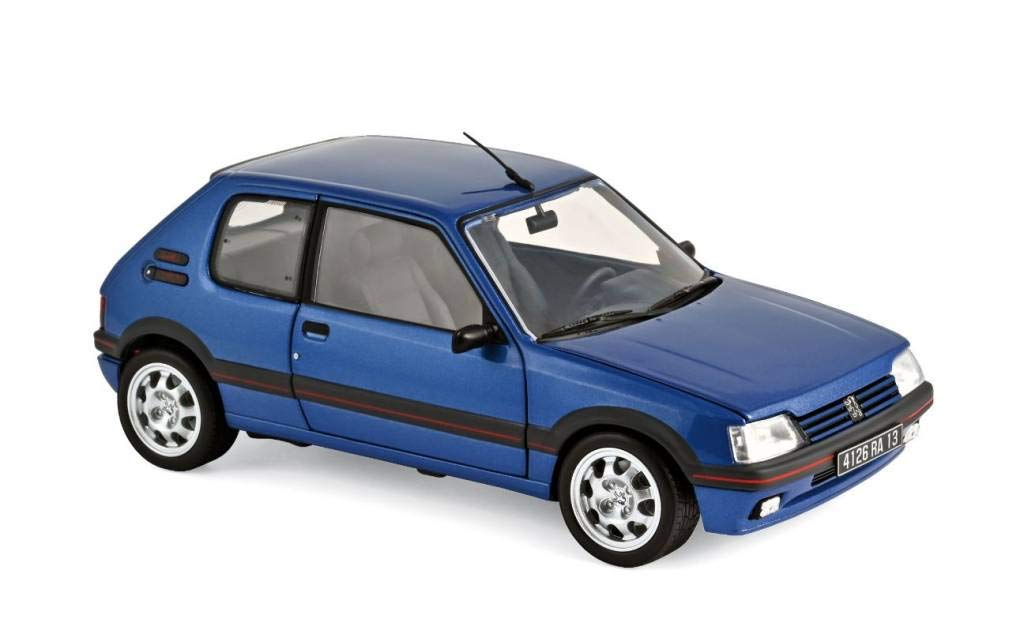 NOREVA NV184856 1:18 1992 Peugeot 205 GTI 1.9-Miami Blue