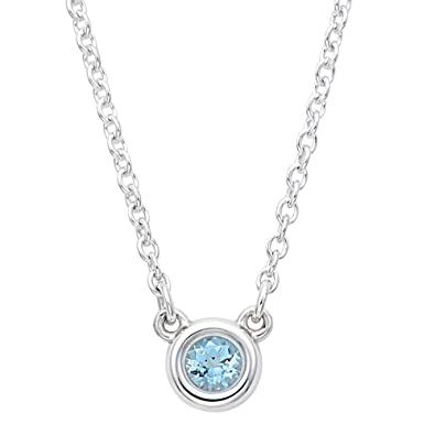 newest collection 93dc8 80a67 Amazon | [ティファニー] TIFFANY アクアマリン 0.06ct ...