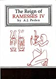 img - for The Reign of Ramesses IV (1994) book / textbook / text book