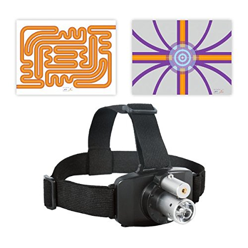 SenMoCOR LED Laser Headlamp for Sensory Motor Control Testing and Treatment