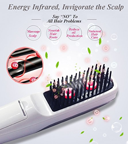 Hair Growth Comb Electric Regrowth Hair Massager Brush Anti Hair Loss