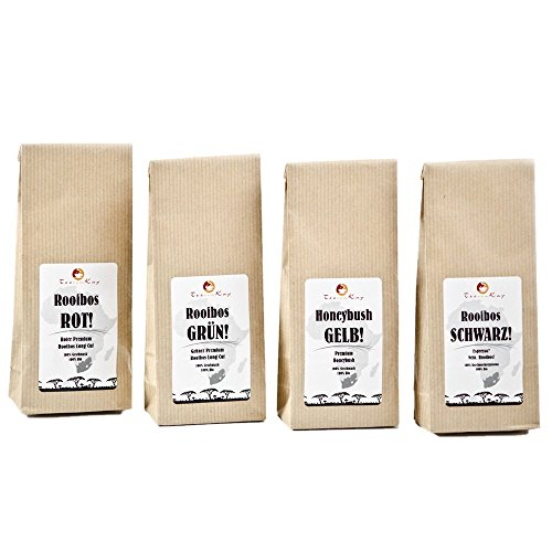 Tee-Set Geschenkset Probierset Premium Bio-Tee