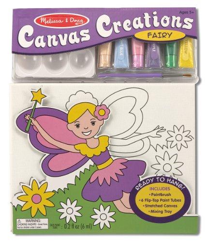 Melissa Doug Canvas Creations Fairy