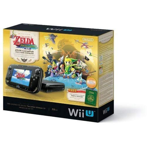 The Legend of Zelda™: The Wind Waker (HD Deluxe Set) for Nintendo Wii U (Renewed)