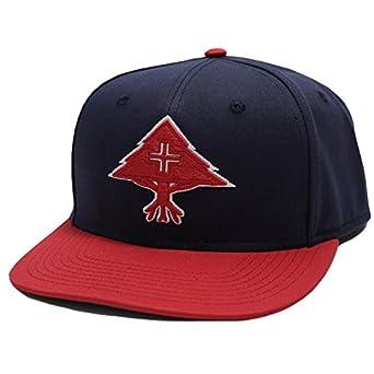 【Y172506】 エルアールジー LRG キャップ CAP 帽子 紺赤 バイカラー スナップバック 定番