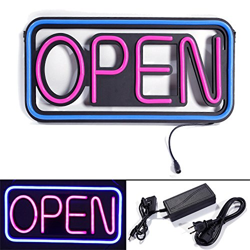 New Square Hang Waterproof Open LED Spectacular Sign Outdoor LED Business Sign ()