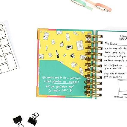 Agenda 2020 diaria de bolsillo - Pedrita Parker: Amazon.es ...