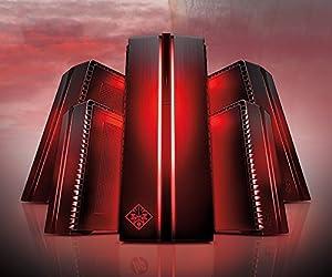 HP OMEN 870 Ultra Performance VR Ready Desktop PC (Intel Core i7-7700K Liquid Cooled CPU, 8GB GDDR5X NVIDIA GTX 1080 Graphics, Windows 10 Professional, 512GB SSD + 3TB 7200RPM Storage, 32GB DDR4 RAM)