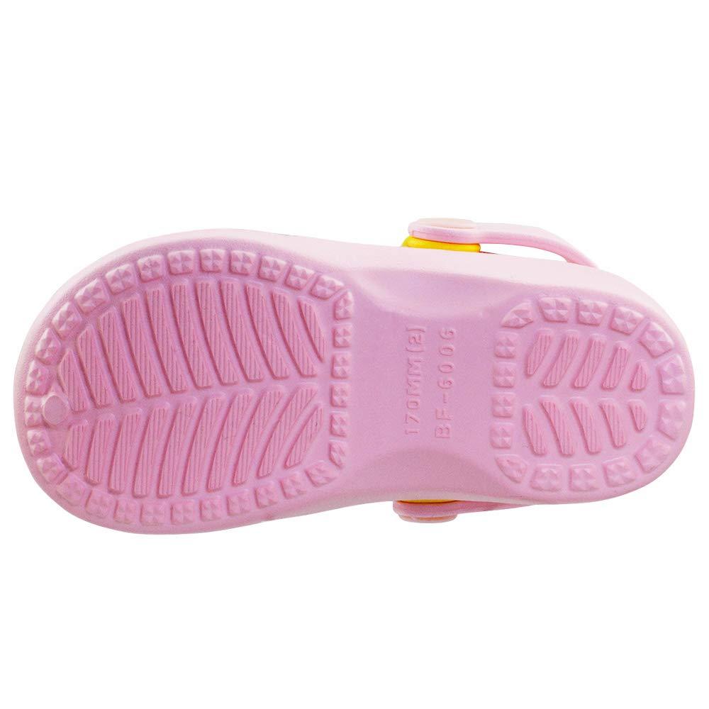 Toddler//Little Kid DGrut Sandals for Boys GirlsKids Clogs Slippers Sandals Non-Slip Slide Lightweight Garden Slip-on Shoes Beach Pool Shower Slippers
