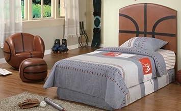 Kid Youth Basketball Twin Size Bed Headboard