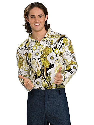 - Groovy Green Shirt for Men