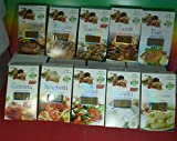 Greek Herbs & Spices 10 PACKS X 40g FOR BARBEQUE, BURGERS, SOUVLAKI, LAMB, FISH, GEMISTA, SPAGHETTI, GREEK SALAD, TZATZIKI, FETA CHEESE,FRESH