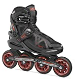 Roces 400804 Women's Model Gymnasium 2.0 Fitness Inline Skate, US 10, Black/Red