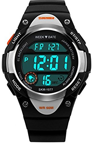 Kids Digital Watch LED Sport Waterproof Electronic Watches
