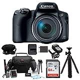 Canon PowerShot SX70 HS 65x Optical Zoom Digital Camera w/ 64GB...