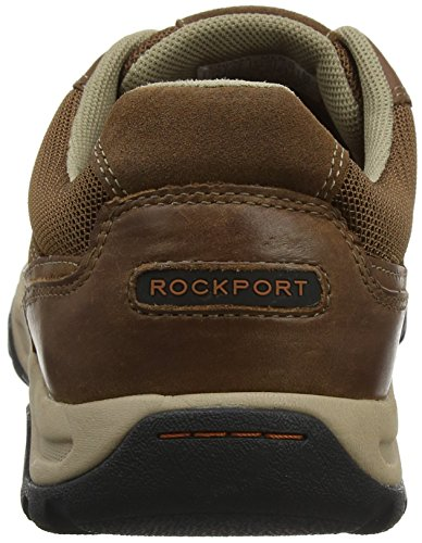 Rockport Trail Waterproof Tan Uomo Marrone Stringate Technique Derby Scarpe Oxford qqEOrw
