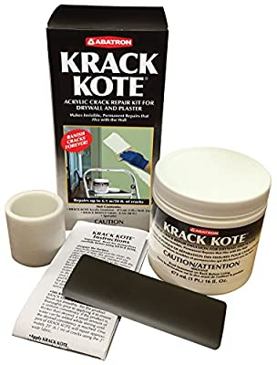 Krack Kote - Acrylic Crack Repair Kit for Drywall and Plaster