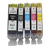 Inkcool compatible ink cartridges PGI-250XL CL-251XL For PIXMA MG5420,PIXMA MG5450,PIXMA MG6320,PIXMA MG6350,PIXMA MX922,PIXMA iP7220,PIXMA iP7250,PIXMA MX722