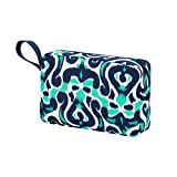 High Fashion Zippered Pouch Cosmetic Bag Pouch Can be PERSONALIZED (Luna Lagoon)