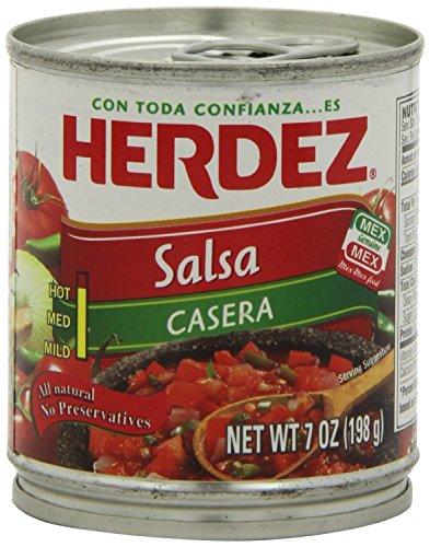 Herdez Premium Mexican Salsa 7 ounce (6 Pack)