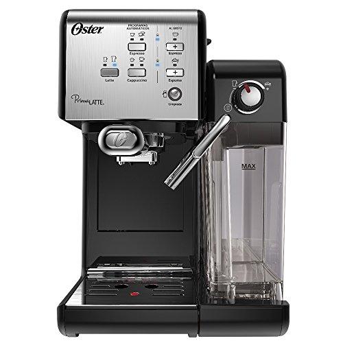 Cafeteira Expresso Prima Latte Preta 1170W Oster - 220V