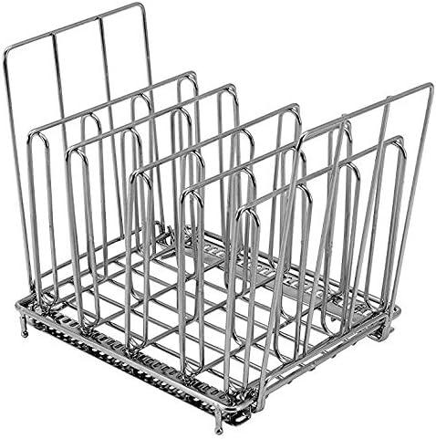 LIPAVI Sous Vide Rack L10 - Rejilla profesional para cocinar al vacío | Accesorios para cocedor de acero inoxidable 316L | plegable y ajustable 19,8 x 16,3 x 16,7 cm | adaptable