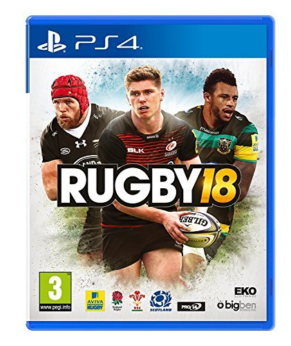 Lion Rugby (Rugby 18 (PS4) (UK IMPORT))
