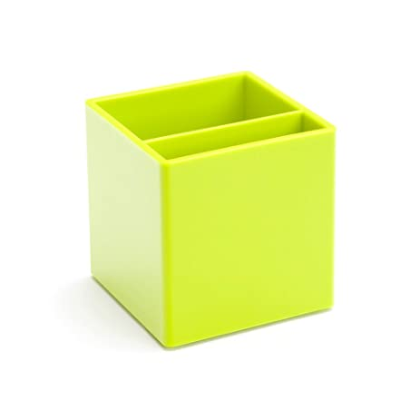 lime green office. Poppin Pen Cup, Lime Green Office