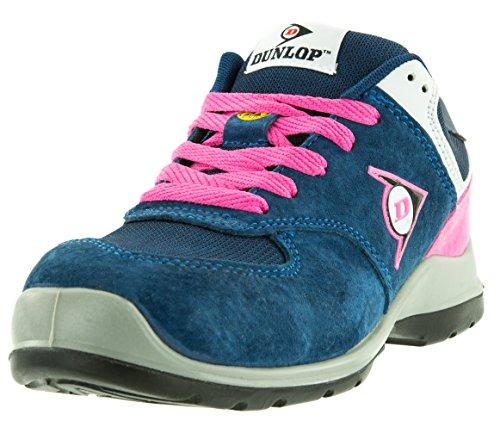 Dunlop Flying Arrow Veiligheidsschoenen Werken Schoen S3 Met Neus, Atletisch En Ademend, Verschillende Kleuren. + Ace Schu Tas Gratis Roze