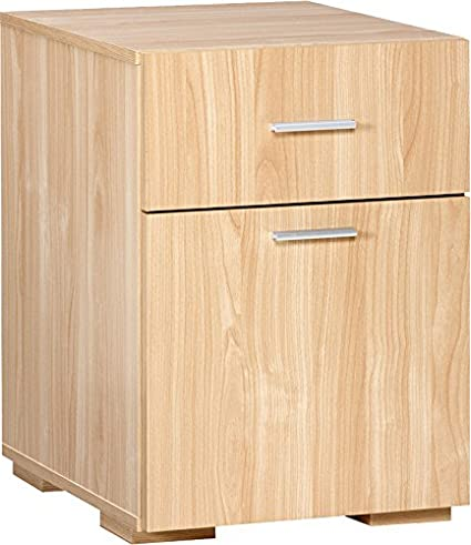 Comfort Products Modern 2 Drawer Lateral File Cabinet, Oak
