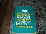 Introduction to the New Testament, D. Edmond Hiebert, 0884692051