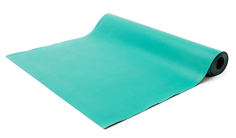 Bertech Rubber ESD Soldering Mat Roll, 3' Wide x 15' Long x 0.06'' Thick, Green