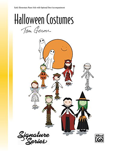 Halloween Costumes: Early Elementary Piano Solo with Optional Duet Accompaniment (Signature -
