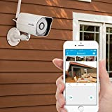 Zmodo 720p HD Outdoor Home Wireless Security Surveillance Video Camera System (1 Pack) (Personal Computers)