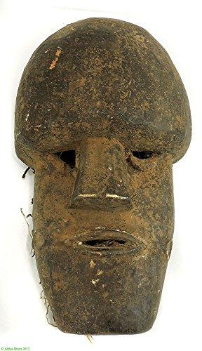 - Kpelle Bassa Mask GEH-Naw Liberia Sierra Leone African Art