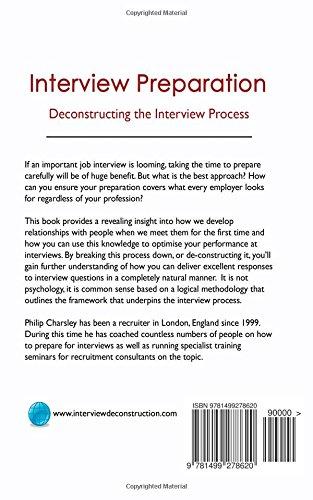 Interview Preparation: Deconstructing the Interview Process: Philip