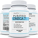 Best Purified Omega 7 Fish Oil - Provinal Omega 7: All The Palmitoleic Acid Your Body Needs - High Potency One Month Supply - 100% Money Back Guarantee